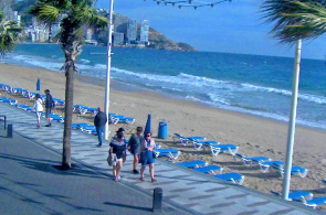 Benidorm Beach. Alicante Webcams online