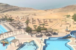 Totes Meer. Hotel Sweimeh Dead Sea Spa Webcam online