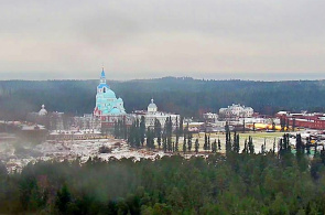 Valaam Kloster. Panorama Webcam online