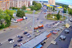 Transportplatz. Tomsk Webcams online