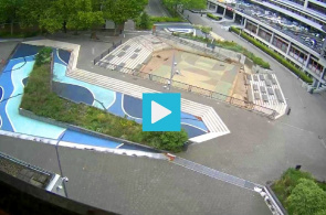 Watersquare Benthemplein Square. Webcams Rotterdam online