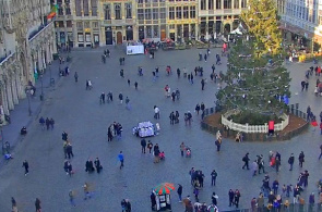 Grand Place Brüssel Panorama Webcam online
