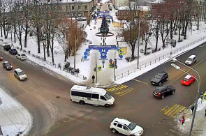Kirow-Platz. Sortavaly Webcams online