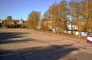 Revolutionsplatz. Cherepovets Webcam online