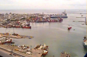Montevideo City Port Webcam online