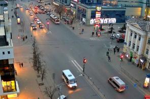 Krakow promenade street webcam