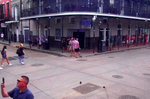Bourbon Street. New Orleans Webcams Online