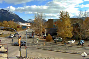 Railway Avenue. Canmore Webcams online