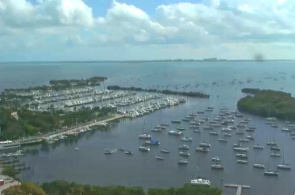 Biscayne Bay Miami Webcam online