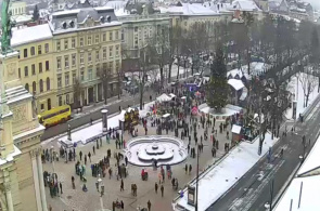 Webcam Opera House, Svobody Ave. Lviv Webcam online