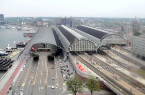 Amsterdam Central Station Webcam online