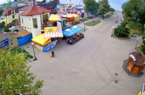 Küstengebiet. Cafe-Bar Greenwich. Webcams Berdyansk online