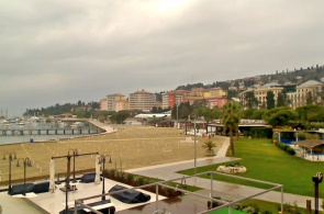 Portoroz Beach Webcam online