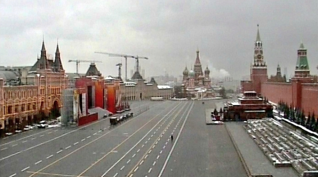 Roter Platz in Moskau Webcam online