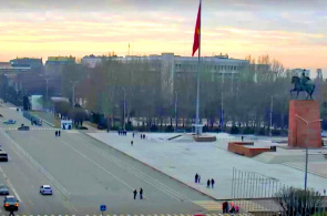 Ala-Too Square. Bischkek Webcams online