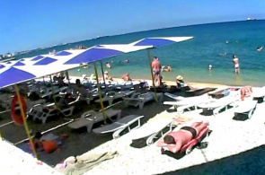 Pebbles Beach, Feodosia Webcam online
