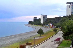Panorama-Webcam-Promenade. Pitsunda Webcams online