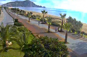 Incekum Beach Alanya Webcam online