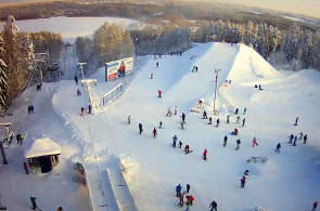 Echtzeit-Skipiste des Red Lake Resorts