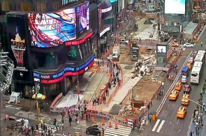 Zwei Times Square Panorama-Webcam online