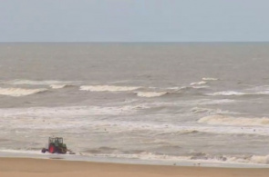 Kitesurf Beach in Scheveningen Webcam online