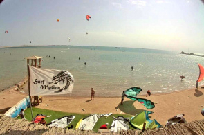 Makadi Bay Beach. Hurghada Webcams online