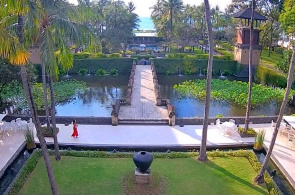 Hotel InterContinental Bali Resort. Webcams Bali online