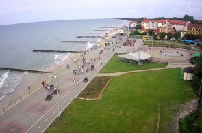 Zelenogradsk Strand Webcam online