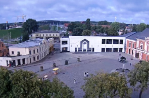Theaterplatz. Klaipeda Webcam online