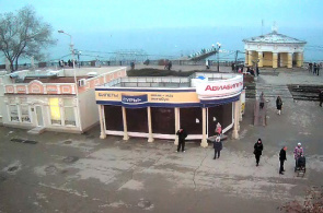 Live-Webcam am Bahnübergang in Feodosia