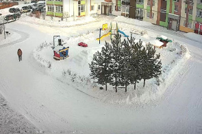 Straße Karasyevskaya. Webcams in Jekaterinburg online