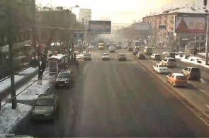 Komitas Avenue Yerevan Webcam online